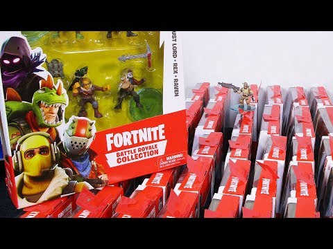 Fortnite Battle Royale Collection Epic Games Minifigures By Moose Toys Still Plays With Toys