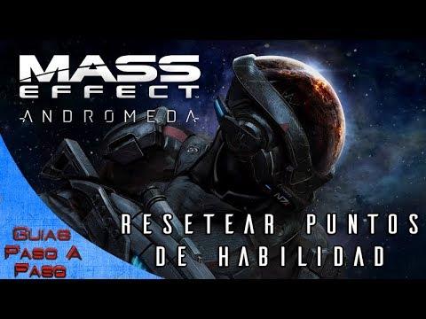 Mass Effect: Andromeda | Cómo resetear los puntos de habilidad