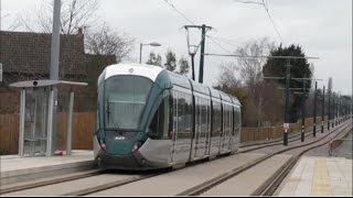 NET Tram Extension to Clifton - Nottingham Station to Clifton - March 2015