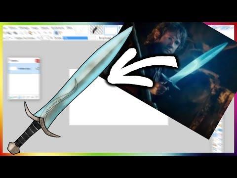 MINECRAFT PACK MAKING | BILBO'S SWORD (STING)