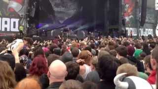 Parkway Drive, Carrion, Download Festival 2013, PUSSEEEES!