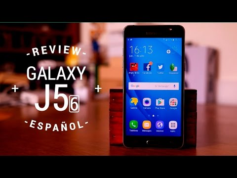 Samsung Galaxy J5 Metal (2016) - Review en español