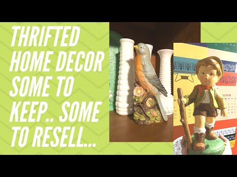 Thrift Haul | Depression Glass, Vintage Cermaic Figurines, Amazing Mikasa Germany Find! | Reselling