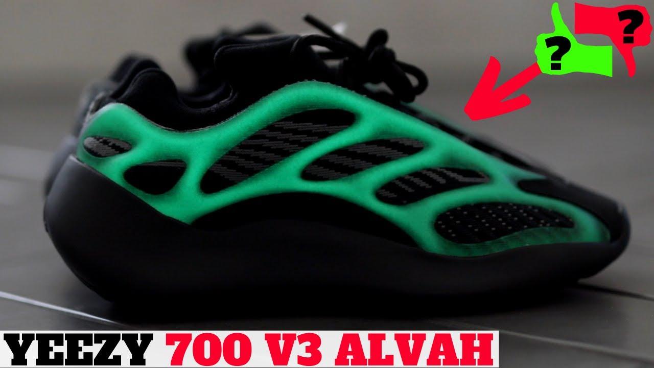 yeezy 700 black green