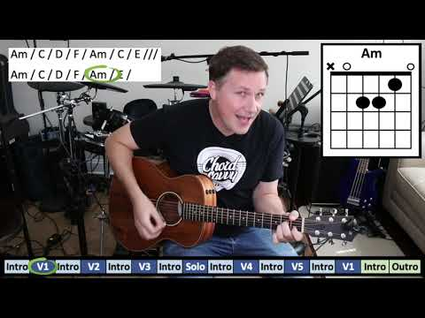 House of the Rising Sun by The Animals - How to Play Guitar Chords