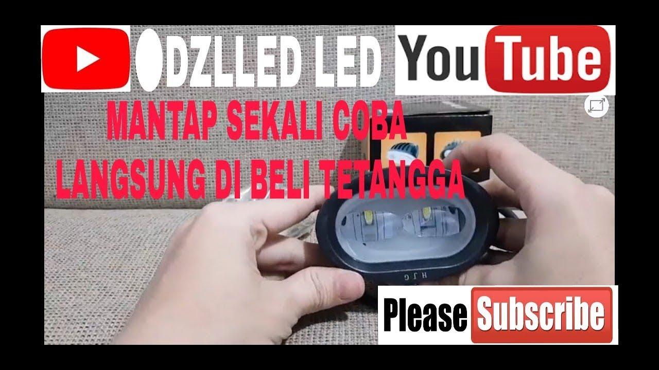 Pengetesan Lampu Tembak Sorot Led Owl Flat 4d Lens Dc 12v 20 Watt Motor 3 Sisi Rtd 40 Cree Spotlight