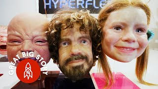 Meet the Man Creating Freakily, Disturbingly Realistic Masks