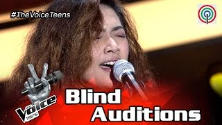 The Voice Teens Philippines Blind Audition: Reign Ng - What