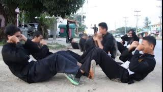 Silat harimau patani gradisi tali pinggang ( mentera semerah padi )
