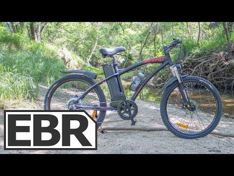 DJ Bikes Electric Mountain Bike Video Review - $1.5k Economical Trail Ebike