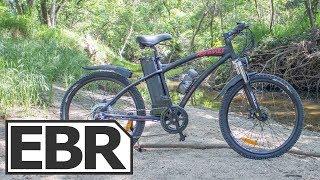 DJ Bikes Electric Mountain Bike Video Review 1 4k Economical Trail Ebike
