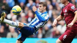 Brighton & Hove Albion 2-0 Newcastle United | The FA Cup 3rd Round 2013