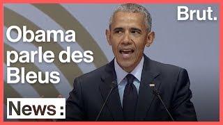 Quand Barack Obama parle de l'équipe de France dans son hommage à Nelson Mandela