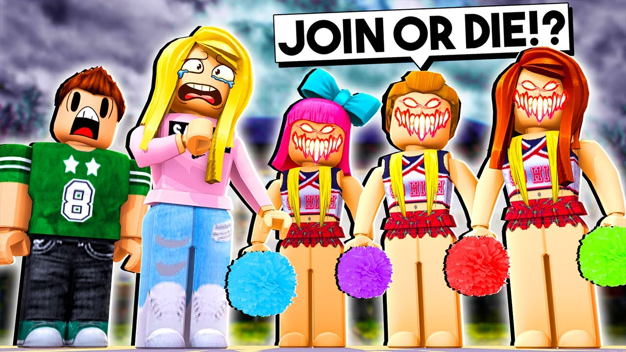 We Were Forced To Join The Cheerleading Team Roblox W Jelly