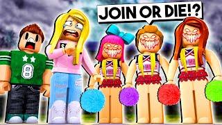 Nous avons été forcés de rejoindre l'équipe de Cheerleading! (Roblox) W/Jelly