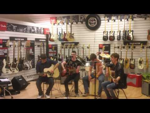 Reckless Avenue Perform Cold Night for Sound Shop TV Drogheda