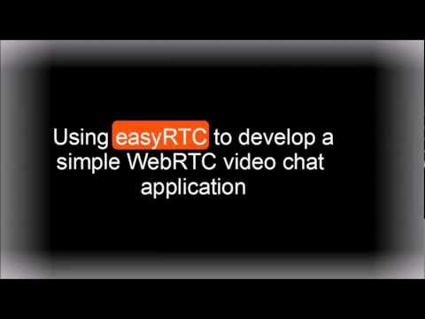 easyRTC example: Simple WebRTC Video Chat