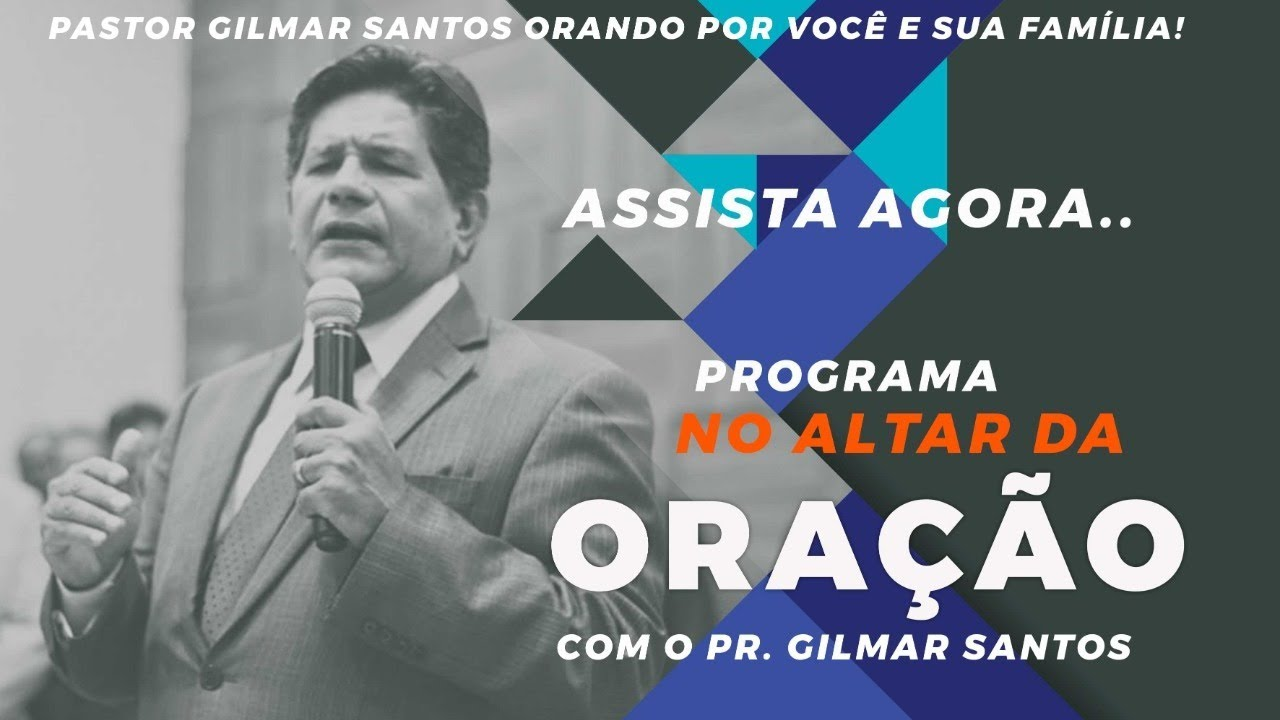 No altar da oração - Pr. Átilas Lopes -  Quinta