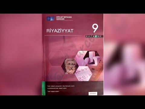 9cu sinif Riyaziyyat seh67-68-69 (teze) Kvadratik funksiyanin tetbiqi ile mesele helli
