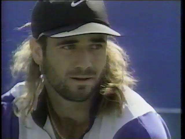 Agassi vs Chang US Open 1994 - YouTube