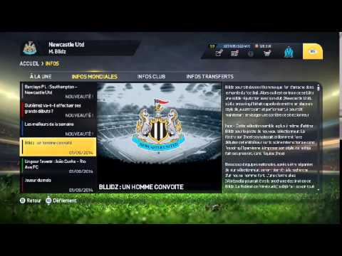 [Live] Carrière Manager Newcastle Utd #1