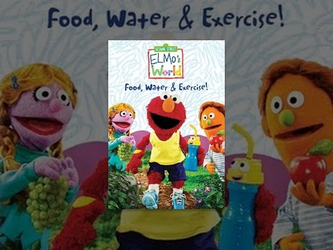 Elmo S World Food Water And Exercise