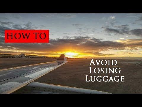 Travel Tips #3 - Losing Luggage on International flights