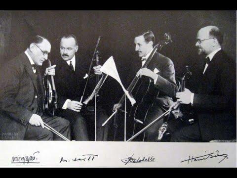 Ravel String Quartet Quatuor Capet