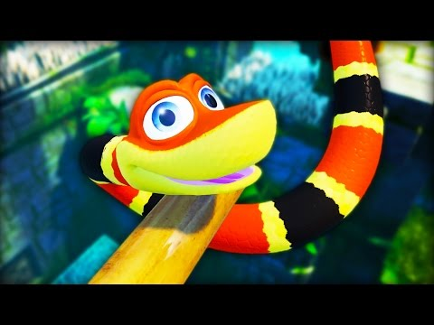 SNEK DO A SLITHER | Snake Pass