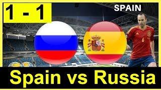 España vs. Rusia EN VIVO - SPAIN vs RUSSIA LIVE  01/07/2018 WORLD CUP Simulator