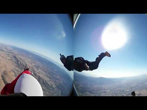 35b0485a02c9 SkyDive in 360° Virtual Reality with Kevin from Insurtech  Guac   Chips