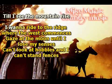 Mike Malak & The Fakers  - Don't Fence Me In (Gene Autry, cover song, lyrics)