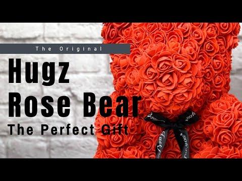 The Original Hugz Rose Bear Brand - The Perfect Gift