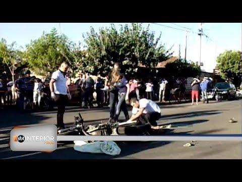 Acidente mata motociclista em cruzamento de Araçatuba