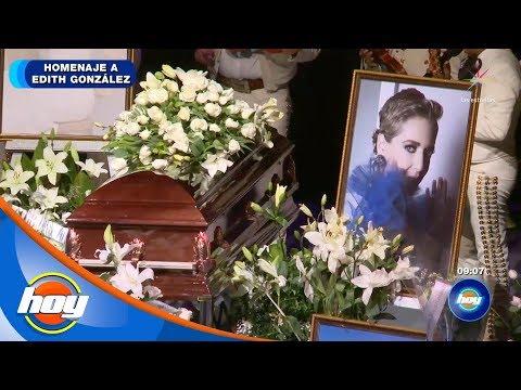 El Gallo Por La Mañana -  Así fue el último adiós a Edith González.