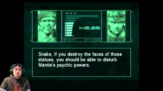 Beating Psycho Mantis with no controller port swap in Twin Snakes