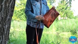 Женский клатч цвета «Коньяк» купить в Украине. Обзор