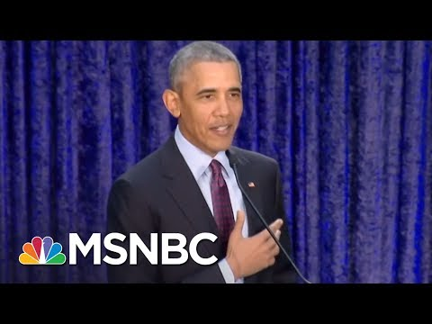 Barack Obama Portraits Revealed | All In | MSNBC