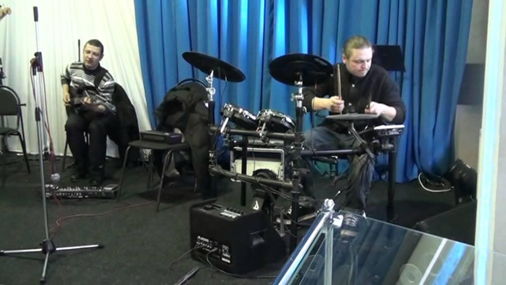 Электронные барабаны своими руками на модуле Megadrum № 2 - YouTube