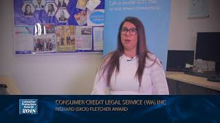 CCLSWA wins the Consumer Protection Richard (Dick) Fletcher Award