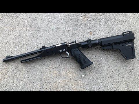 Keystone/Crickett .22LR Folding Survival Pistol Project