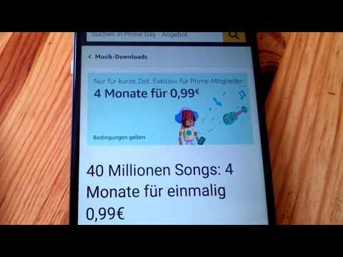 Amazon Music Unlimited 4 Monate für 99 cent 40 Millionen Titel Streamen und Runterladen