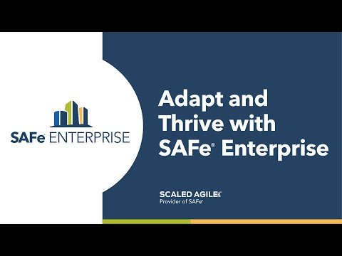 Scaled Agile, Inc. Unveils SAFe® Enterprise, a Premium Subscription Service Designed to Help Global Organizations Achieve Sustainable Business Agility
