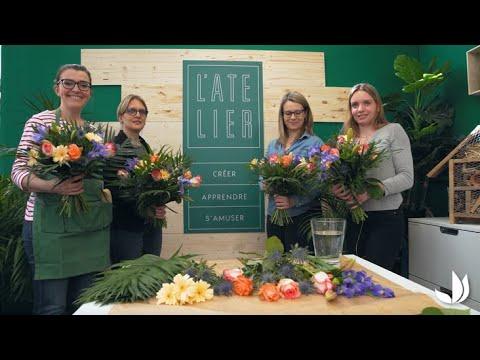 Les Ateliers Truffaut En Magasin Jardinerie Truffaut Tv Youtube