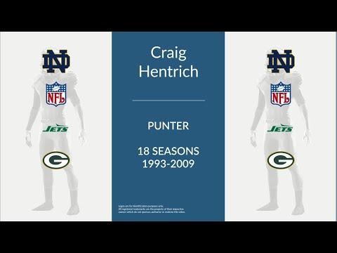 Craig Hentrich: Football Punter