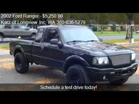 2002 Ford Ranger Quad Door 4x4 4 Doors For Sale In