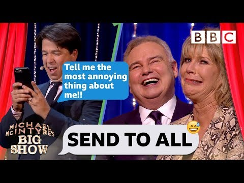 Eamonn Holmes' bathroom secrets revealed 😂🚽 by Michael's hilarious text - Send To All
