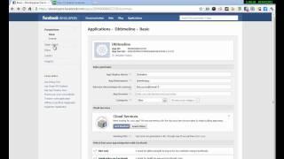 Facebook, activation de la fonction