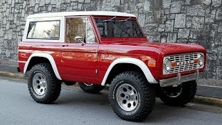 1971 Ford Bronco For Sale