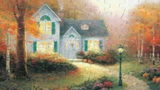 TV Spot Puzzles Thomas Kinkade